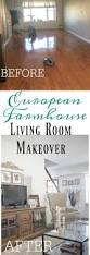 Raymour And Flanigan Lindsay Dresser by Farmhouse Furniture European Farmhouse Living Room Makeover