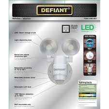100 Defiant Truck Products LED Motion Sensor Security Light By 180 Degree 180 Degree