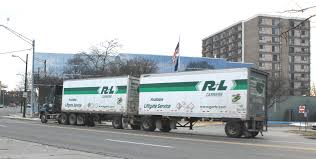 File:R+L Carriers Truck With Tanden Trailer Ypsilanti Michigan ...