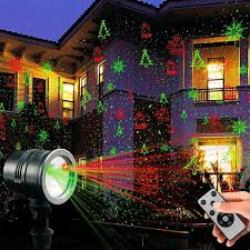 Snowfall LED Lights Waterproof Garden Lights Remote Control Landscape Lighting Christmas Projector Lights For Indoor Outdoor Wedding Party Holiday