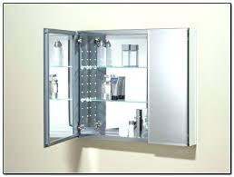 Home Depot Kohler Recessed Medicine Cabinet by Kohler Medicine Cabinet Silver Frame Cabinets Recessed Home Depot