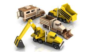 100 Toy Trucks Youtube 35037 Woodworkers Plans Four Construction