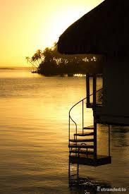 overwater bungalow le meridien hotel bora bora polynesia