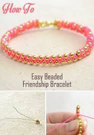 Easy Handmade Jewelry For Girls Beaded Friendship Bracelets