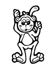 Perfect Monkey Coloring Pages Colorings Book Design Ideas Pictures To Color Online Howler Free Printable Sock
