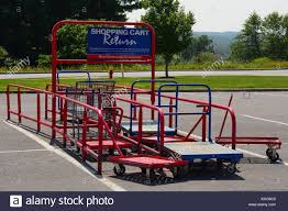 Shopping Cart Return Area In The Parking Lot Of A Lowe's Retail Home ... Magna Cart Jim Dormanjim Dorman Milwaukee Folding Hand Truck Lowes The Best 2018 Wagon At Costco Personal Shop Trucks Dollies At Within Wonderful Small With Phomenal Two Wheel Dolly Moving Supplies Home Depot Fniture Idea Alluring Plus Utility Carts Multi Position And Lowescom Reymade Trailers From As A Basis For Project Youtube Lifted Convertible 2017