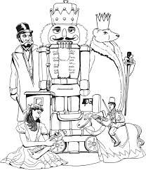 Thanks For Visiting Barbie Nutcracker Coloring Pages