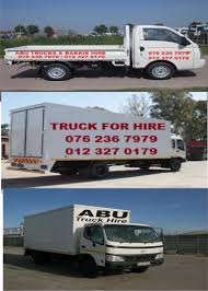 ABU TRUCKS AND BAKKIES HIRE IN PRETORIA 076 236 7979 | Junk Mail