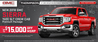 Thompson Buick GMC In Springfield, MO | Nixa, Aurora & Ozark Buick ... Used Semi Trucks Trailers For Sale Tractor Springfield Missouri Tag Hemmings Daily Mayse Automotive Group In Aurora Serving Joplin And Semitruck Accident Truck Lawyer Work August 2017 New 2018 Ram 2500 For Sale Near Mo Lebanon Lease Less Than 2000 Dollars Autocom Trucks For Sale 2014 Chevrolet Cruze Never Say No Auto Cars 65802 Hickman Forklifts Wichita Ks Lift