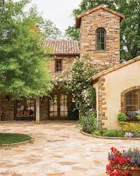 Rustic Luxury Home In Arkansas Stone Tile Roof Accents Lighting Italian Style