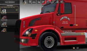 100 Home Run Trucking VNL670 Skin American Truck Simulator Mod ATS Mod