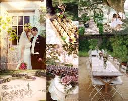 Rustic Pink Green Purple Garden Wedding Inspiration Board