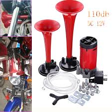 12V SUPER LOUD Dual Trumpet Air Horn Compressor Kit Train Car Truck ... Philippines 4 Trumpet Vehicle Air Horn 12v24v Compressor Tubing Hornblasters Jackass 228v Kit Best Rated In Horns Helpful Customer Reviews Amazoncom Universal Fourtrumpet Air Train Horn For Cartruckboat Kleinn Pro Blaster Train Kits Hella Dual 24v Autoelec Warehouse Online Shop 12v Car Boat Truck 178db Tone Complete System With Compressor Tank And New Chrome W 150 Psi 3 Liter Malaysia Loud Easy To Fit Tech 12v Truck Youtube
