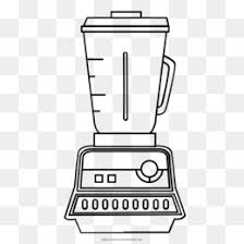 Free Download Coloring Book Home Appliance Flor Blender Clipart Drawing