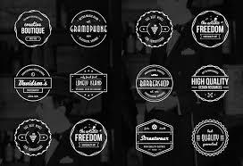 Free Vector Vintage Badges 16 Logos AI EPS