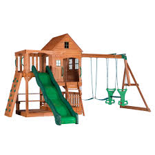 Backyard Discovery Pacific View All Cedar Swing Set - BJ's ... Shop Backyard Discovery Prestige Residential Wood Playset With Tanglewood Wooden Swing Set Playsets Cedar View Home Decoration Outdoor All Ebay Sets Triumph Play Bailey With Tire Somerset Amazoncom Mount 3d Promo Youtube Shenandoah