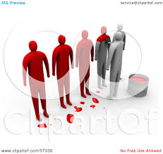 Clipart same people