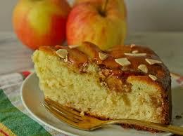 Jelly Glazed Apple Cake