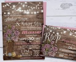 Country Western Wedding Invitations Printable Rustic Spring Floral Cowboy Boot String Lights Barn Invite Pink