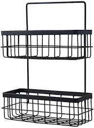 paul03daisy eisen aufbewahrung korb metall drahtkorb kreativ draht aufbewahrungsbox für küche wohnzimmer badezimmer bad oder vorratskammer