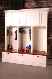 Entry Bench With Storage Ikea White Mudroom Lockers Ikea With Walnut Bench And Bottom Drawers For Home Furniture Ideas