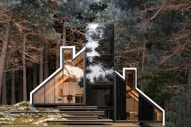100 Images Of House Design Glass House Design By Alex Nerovnya Is All About Forest