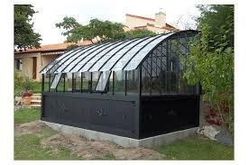 serre adossée versailles jardin couvert