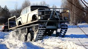 Only In Russia: Lada Tank! - YouTube Custom Rubber Tracks Right Track Systems Int Vehicles You Wont Believe Are Road Legal Tank Vs Ifv Apc A Military Ground Vehicle Idenfication Guide Dtv Shredder An Allterrain That Fits In Your Car Fifteen Cars Ditched Tires For Autotraderca N Go Bangshiftcom Restored Us Army Wwii M2 Half Is Cool Functional Darpa Wheels Change From Tires To Tracks Without Stopping 2018 Gmc Sierra Hd 2500 All Mountain Concept For American Truck Suv System