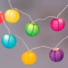 Beautiful Paper Lantern Lights And 96 Paper Lantern Lights Party