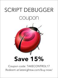 Script Debugger Coupon - Take Control Of Automating Your Mac, 2nd ... Mens St Louis Blues Ryan Oreilly Fanatics Branded Blue 2019 Oreilly Discount August 2018 Deals Textexpander Coupon Take Control Of Automating Your Mac 2nd Authentic 12 X 15 Stanley Cup Champions Sublimated Plaque With Gameused Ice From The Goto Auto Parts Website Search For 121g Mechanadvice Prime Choice Auto Parts Coupon Code Coupon Theater Swanson Vitamins Coupons Promo Codes Great Deals Hotels Uk Spotlight Voucher Online 90 Nhl Allstar Black Jersey Book Depository April Nike Printable November Keyboard Maestro