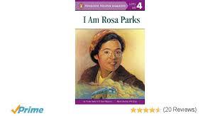 amazon com i am rosa parks penguin young readers level 4