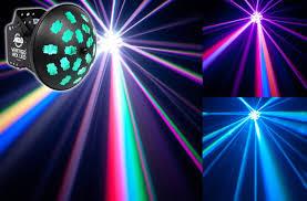 American DJ Vertigo Hex LED 12w Party Club Effect Lighting Fixture