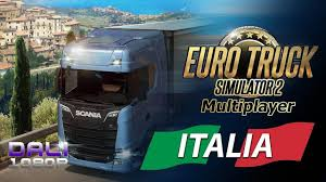 100 Euro Truck Simulator 2 Demo Multiplayer Italia DLC Exploring Italy With