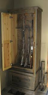 best 25 wood gun cabinet ideas on pinterest gun cabinets gun