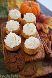 Pumpkin Pie With Gingersnap Crust by Mini Pumpkin Cheesecakes With Gingersnap Crusts