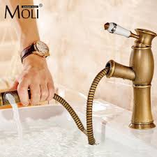 Unlacquered Brass Bathroom Faucet by Antique Brass Bathroom Fixtures Tradition Bamboo Shape Single