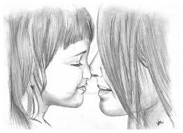 The LOve Pencil Sketch By VMChempankulam