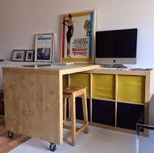 Ikea Computer Desk Hack by The 25 Best Ikea Hack Desk Ideas On Pinterest Ikea Office Hack