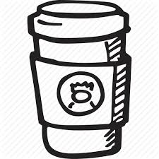 Starbucks Coffee Drawing At GetDrawings Alien Bubble Tea Clip Black And White