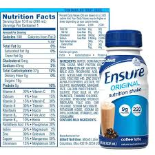 Insure Nutrition Is Ensure Drink A Shake Or Meal Replacement Powder Costco