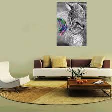 ALAZA Animal Zebra Leopard Print Area Rug Rugs For Living Room