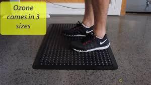 Varidesk Standing Desk Floor Mat by Anti Fatigue Mats For Standing Desks Youtube