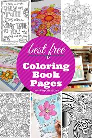 The Best Free Coloring Book Pages For Adults Jennifer Priest Rounded Up Some Great Options