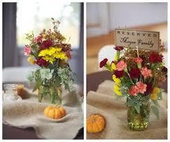 Table Centerpiece Ideas For Fall Weddings Rustic Wedding