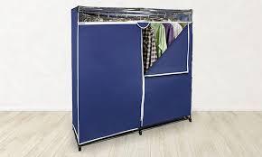 60 In Portable Wardrobe Closet