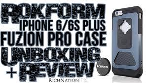 RokForm iPhone 6 6s Plus Fuzion Pro Case Unboxing Review