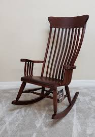 Old South Br. Maple Rocking Chair