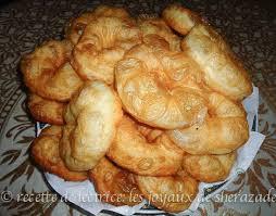 cuisine de chahrazed sfenj à la farine les joyaux de sherazade