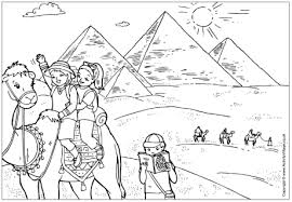 Egypt Coloring Pages Ancient Colouring Crayola Photo