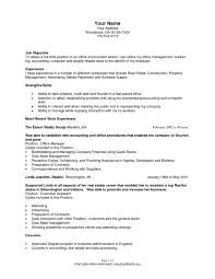 Resume Templatety Industry Sample Objectives In Fresh Hotel Management Of